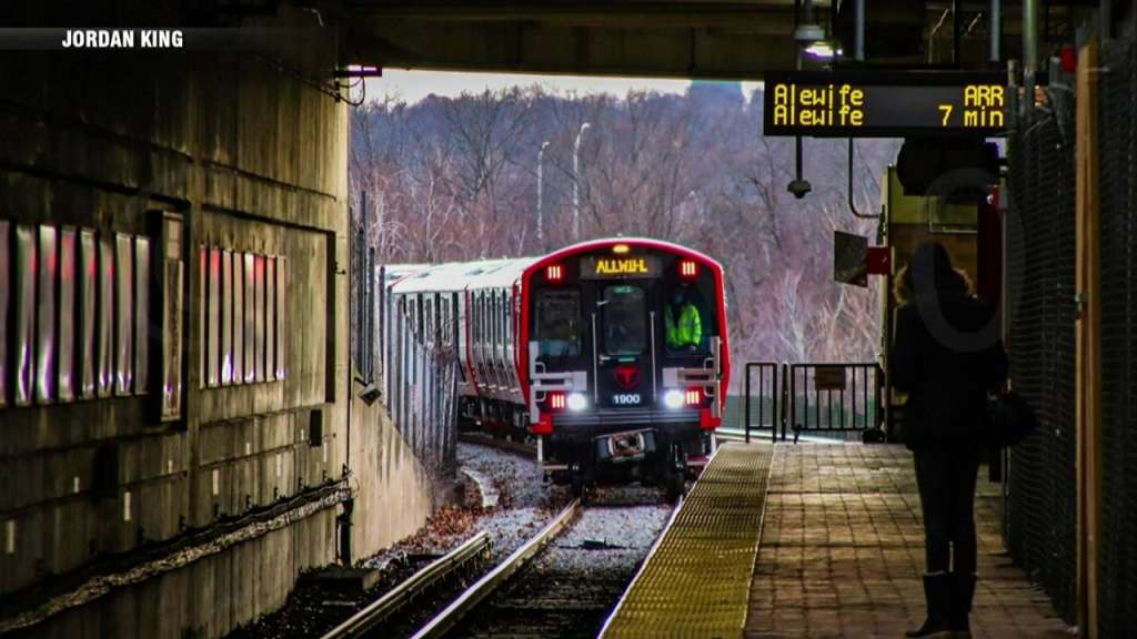 Fist new Red Line train in service..jpg