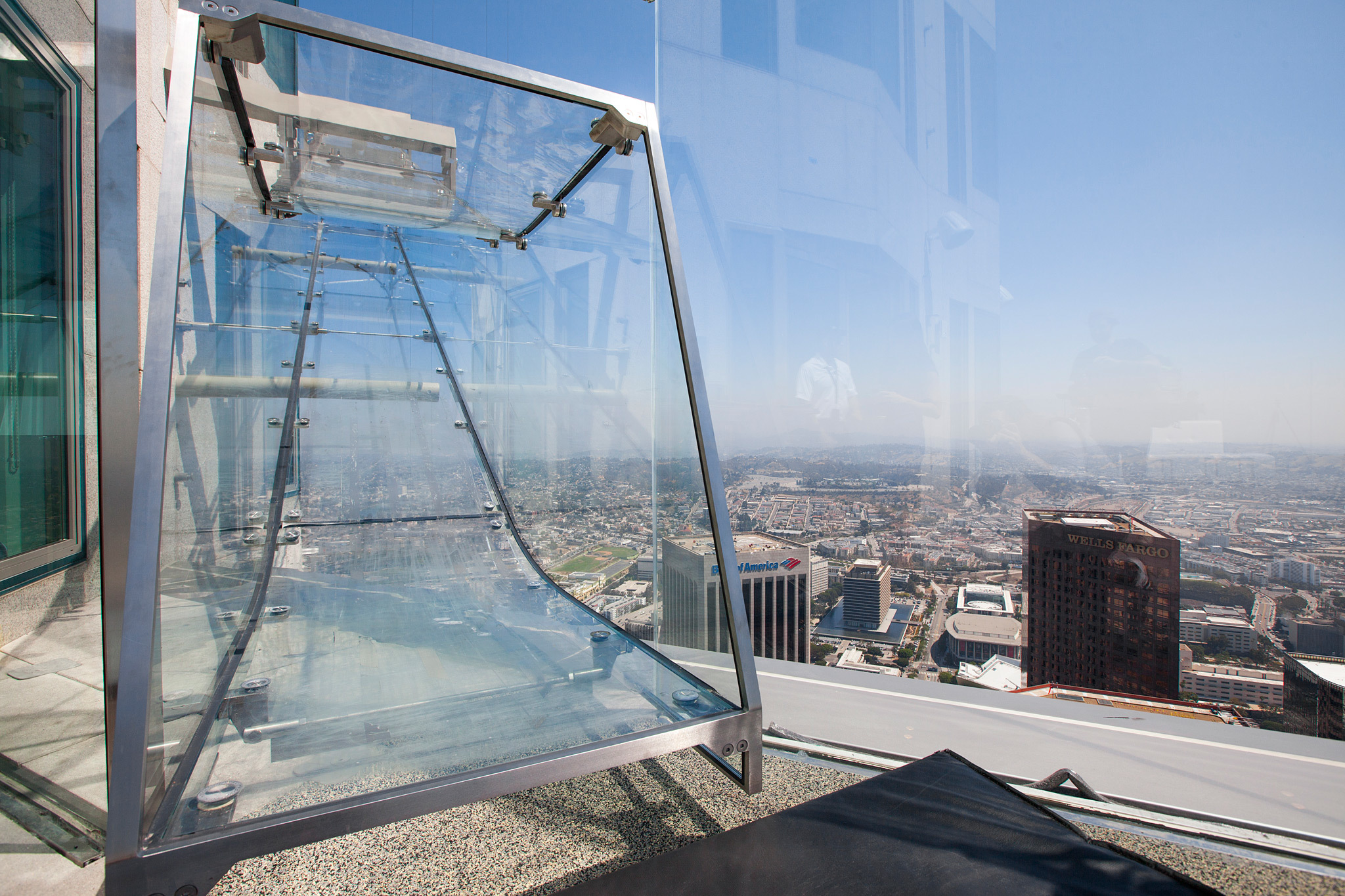 Outdoor slide to lower obs deck at Bank Tower's Skyspace..jpg